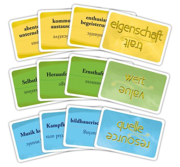 Essence Begriffskarten