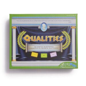Qualities game box